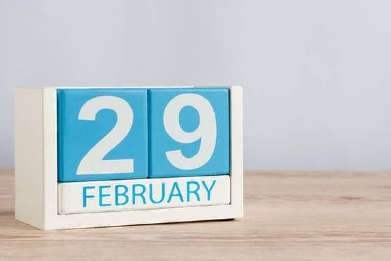 A cada quatro anos nossos calendários têm 366 dias em vez dos tradicionais 365