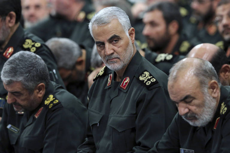 Suleimani em Teerã, em 2016. O major-general ajudou a consolidar o poder de xiita na região