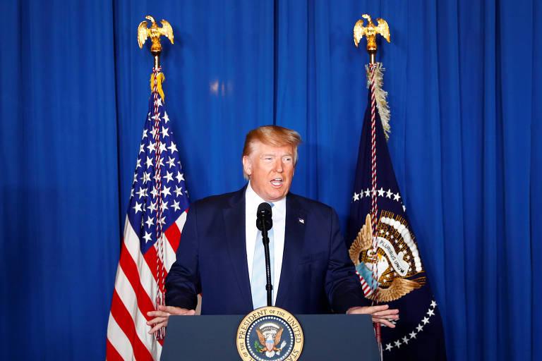 'Agimos para parar uma guerra, não para iniciar uma', diz Trump após ataque que matou general