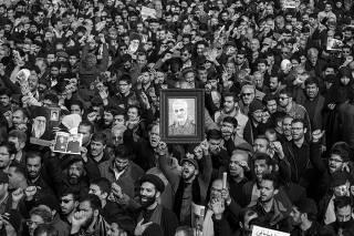 IRAN-TEHRAN-QASEM SOLEIMANI-PROTEST