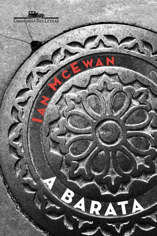 """Capa do livro """"A Barata"""", de Ian McEwan"""