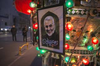 IRAN-TEHRAN-QASEM SOLEIMANI-KILLING