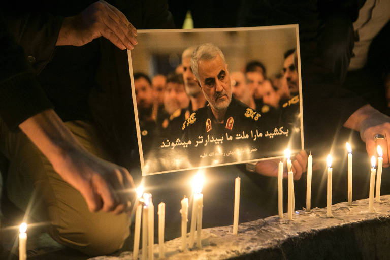 Funeral de Qassim Suleimani, general do Irã