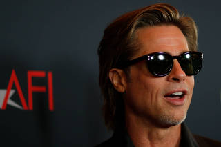 Actor Brad Pitt attends the AFI 2019 Awards luncheon in Los Angeles