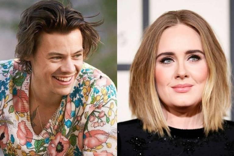 Adele e Harry Styles