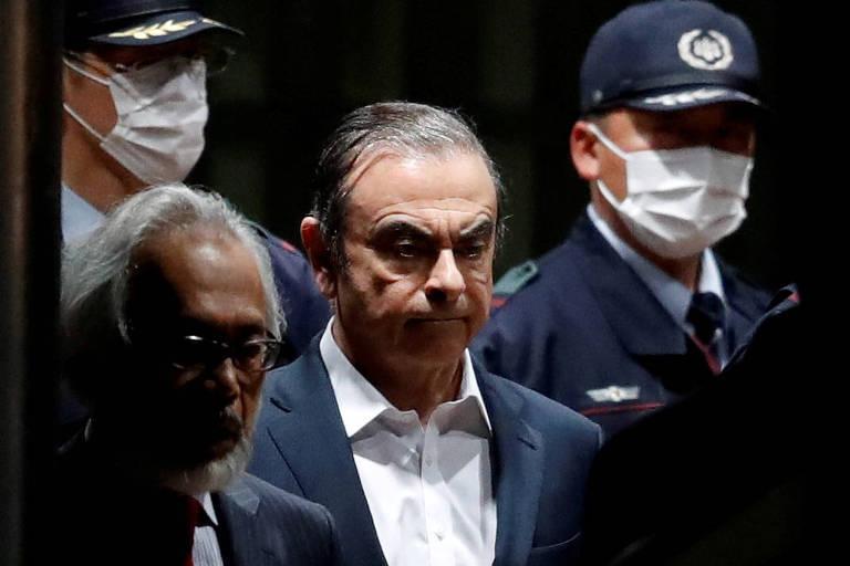 Japão diz que fuga de Carlos Ghosn é injustificável
