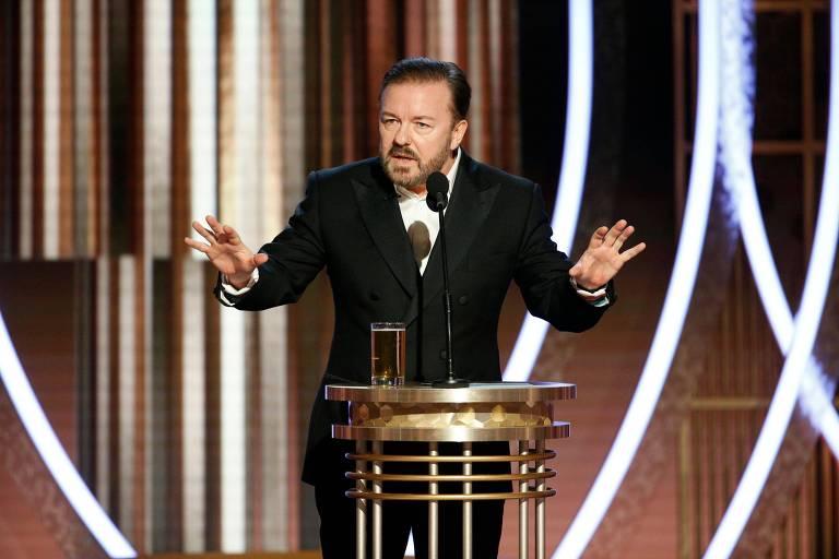 Ricky Gervais apresentou Globo de Ouro de 2020
