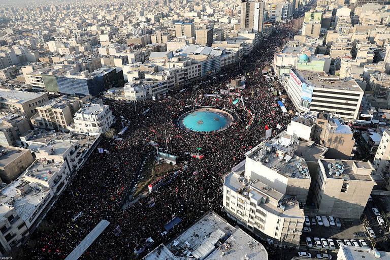 Funeral de Suleimani em Teerã