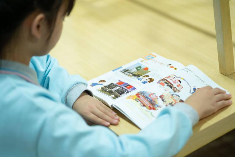Biblioteca da Escola Premier na China