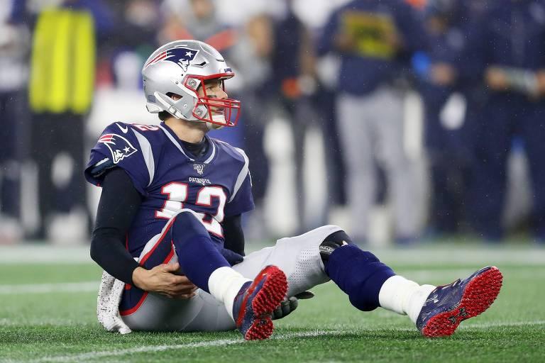 Tom Brady tem futuro incerto após temporada ruim e passe errático