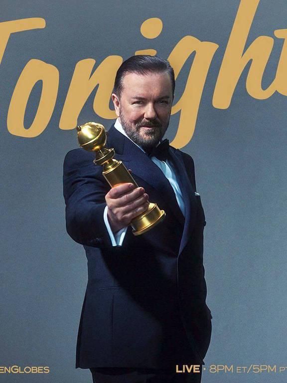 Imagens do ator Ricky Gervais