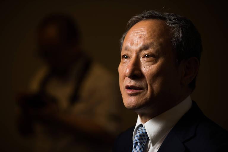 Presidente do banco chinês XCMG, Wang Min