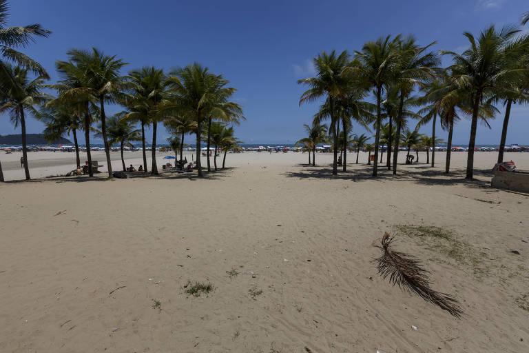 Homem é atropelado por trator enquanto dormia na areia da praia