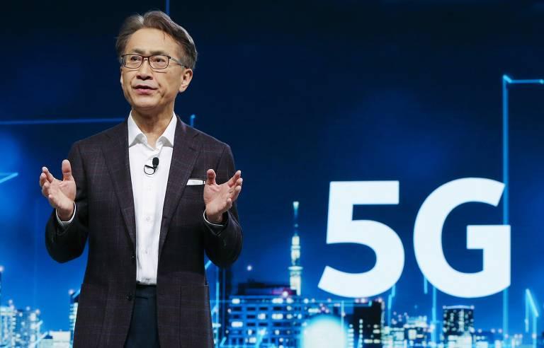 Presidente e CEO da Sony, Kenichiro Yoshida, em janeiro de 2020
