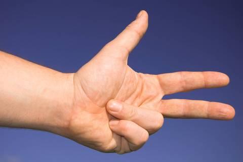 Os dedos contribuíram para a construção abstrata do número