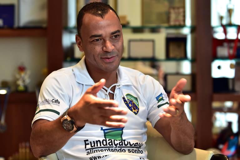 Ex-lateral Cafu, 49, capitão da seleção brasileira na conquista do pentacampeonato mundial, em 2002 Nelson Almeida