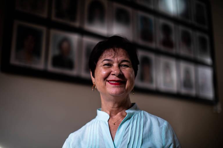 Maria Luiza de Jesus Bernardes, uma das duas primeiras brasileiras a participarem de uma missão de paz da ONU; ela atuou em Angola durante a guerra civil