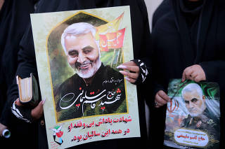 Funeral for Qassem Soleimani in Kerman
