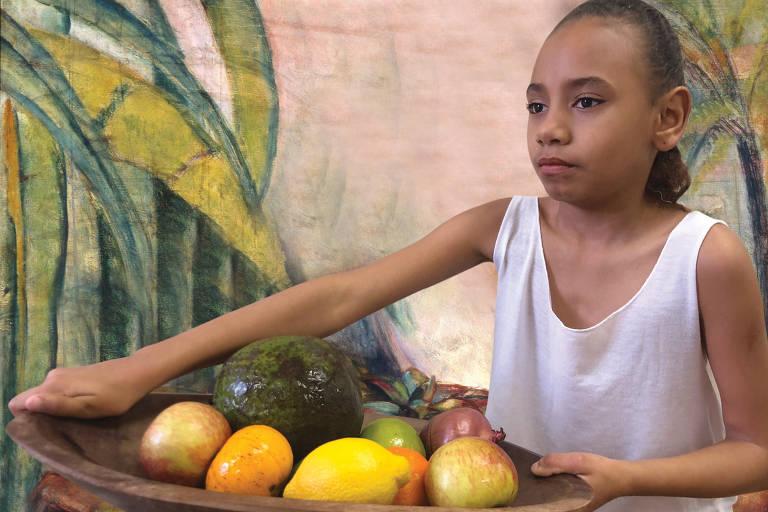 Alunos de escola pública são transformados em pinturas famosas