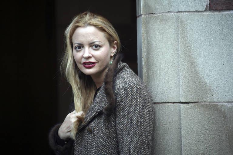 A escritora Elizabeth Wurtzel em 2007