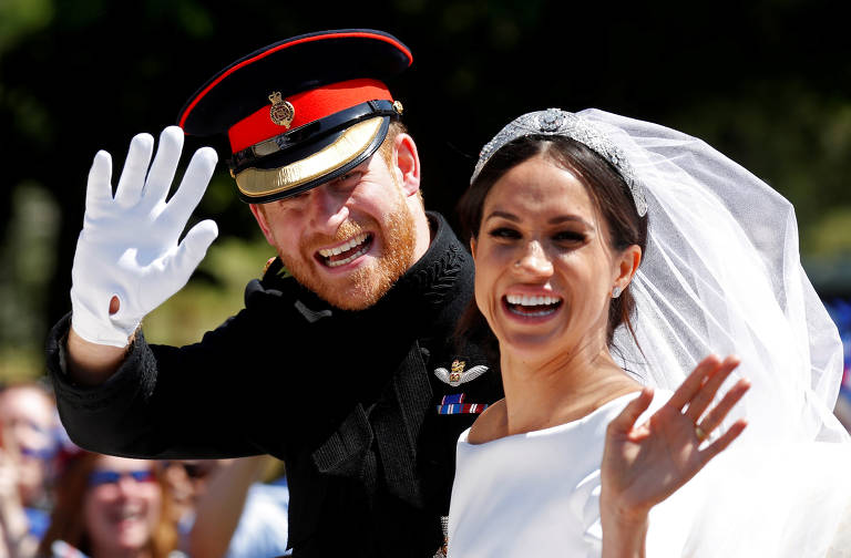 Veja fotos da vida do príncipe Harry e da duquesa Meghan