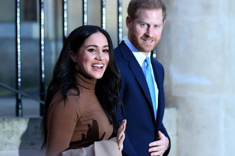 Veja fotos da vida do príncipe Harry e da duquesa Meghan
