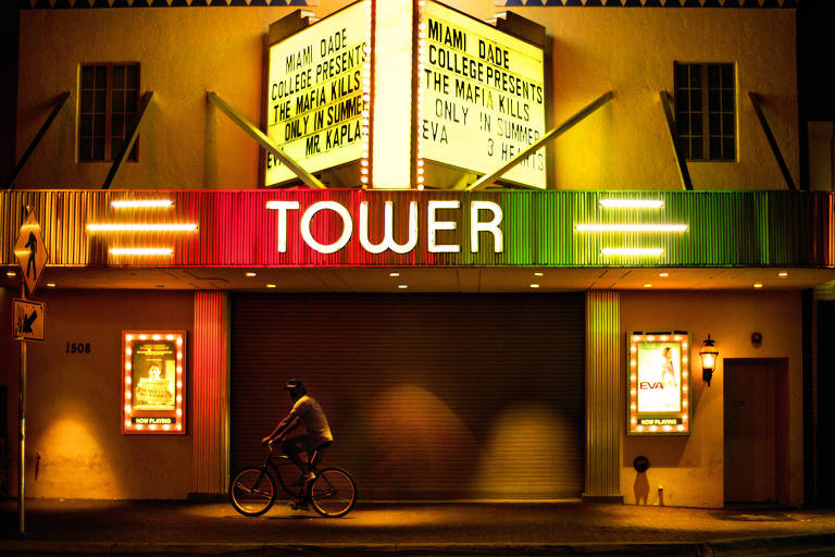 Tower Theatre Miami, cinema e teatro inaugurado em 1926 em Miami (EUA)