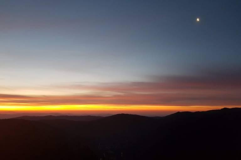 amanhecer na Serra da Estrela