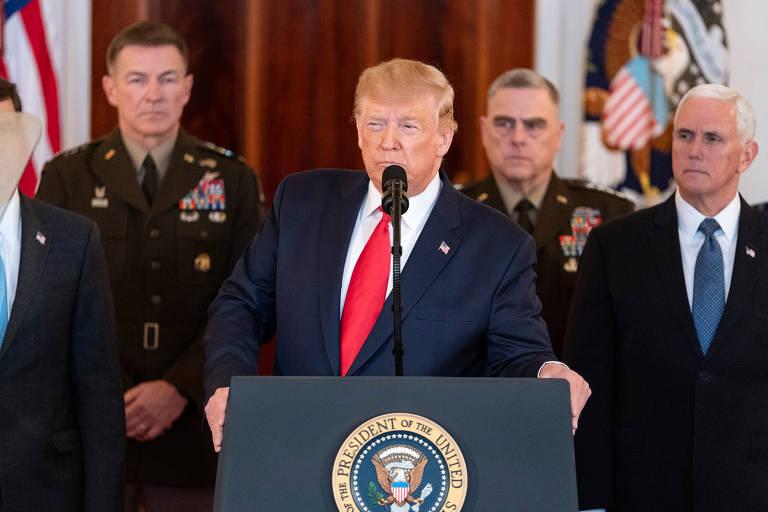 Presidentes americanos em clima de guerra