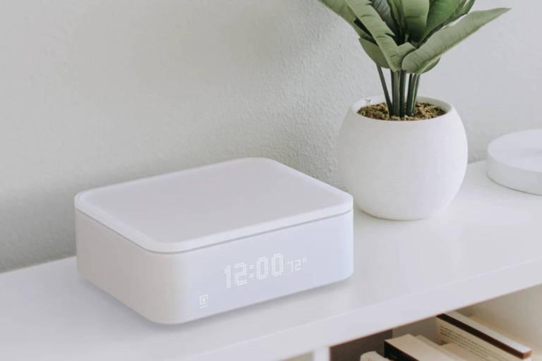 Keep, recipiente para guardar maconha equipado com balança e que emite alerta no celular se alguém tenta abri-lo.