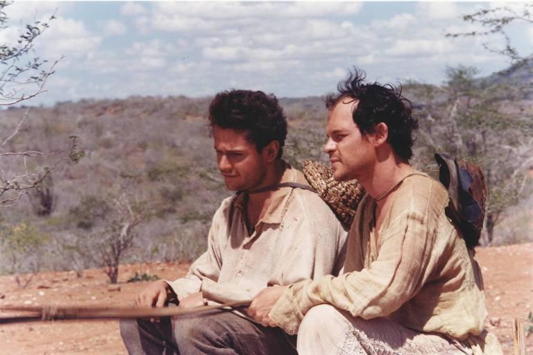 """Cena de"""" O Auto da Compadecida """", escrito por Ariano Suassuna, e filmado pela TV Globo no fim da década de 90. (Foto: Globo/Divulgação)"""