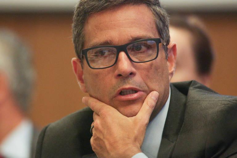 O Presidente do Banco Central, Roberto Campos, Neto durante entrevista na sede do banco em Brasília