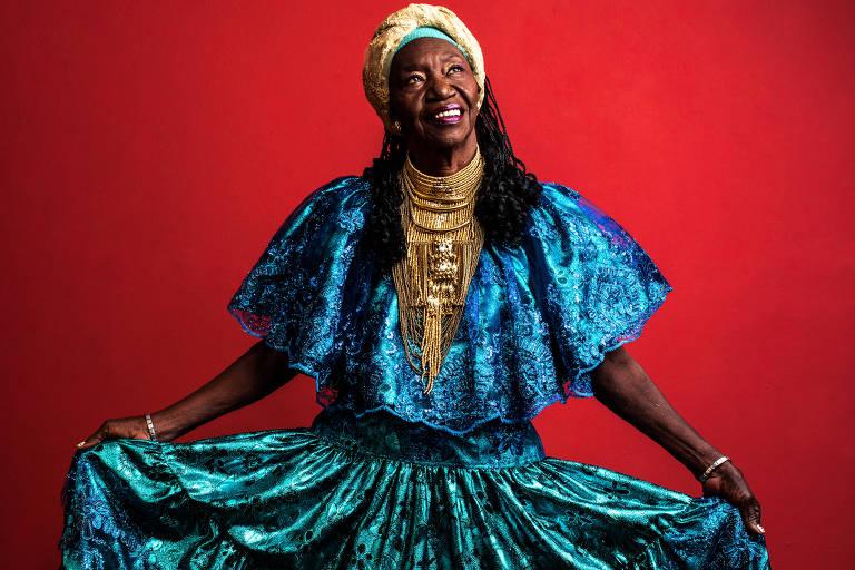 A cantora pernambucana e rainha da ciranda, Lia de Itamaracá