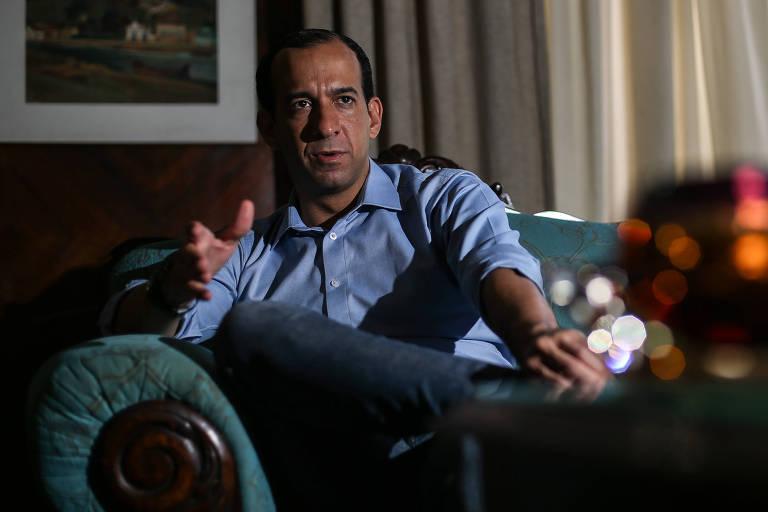 O prefeito de Santos, Paulo Alexandre Barbosa (PSDB), em entrevista à Folha