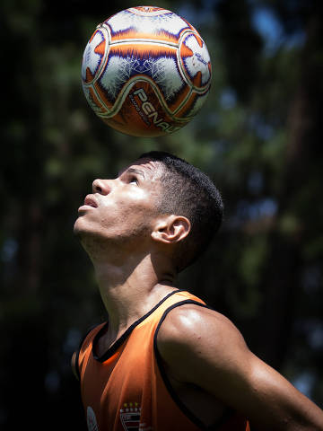 SAO PAULOS/ SP, BRASIL, 07-01-2020: Jogador Aimar Riquelme, jogador do Trem-AP que está disputando a Copinha.   (Foto: Zanone Fraissat/Folhapress, ESPORTE)***EXCLUSIVO****