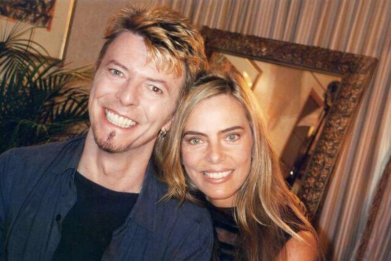 Bruna Lombardi e David Bowie