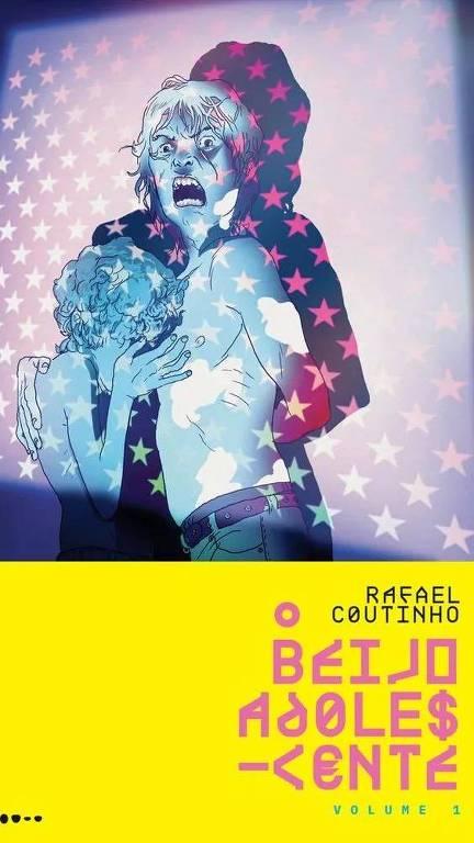 """Livro """"O Beijo Adolescente"""", de Rafael Coutinho"""