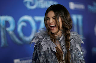 FILE PHOTO: Singer Gomez attends the premiere for the film