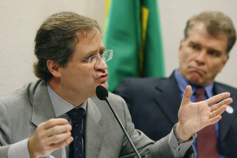 Alberto Murray Neto em audiência no Senado para falar sobre a Olimpíada de Pequim-2008