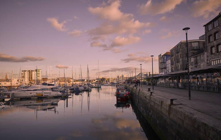 Plymouth, na Inglaterra