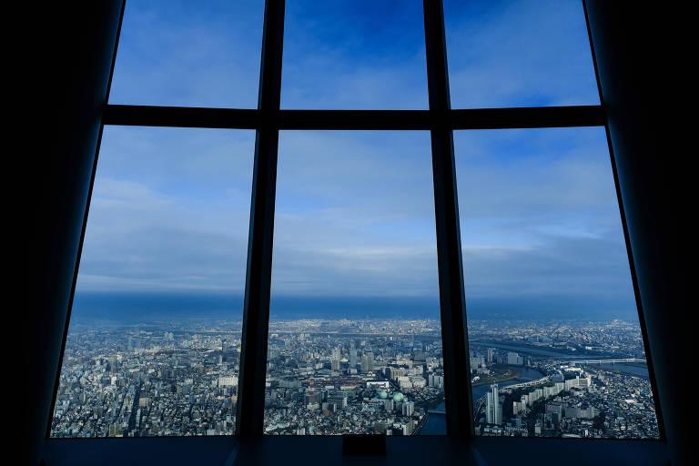 Tóquio, no Japão, vista a partir da Tokyo Skytree