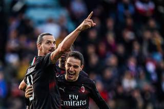 Campeonato Italiano 2019/2020 - Cagliari vs Milan