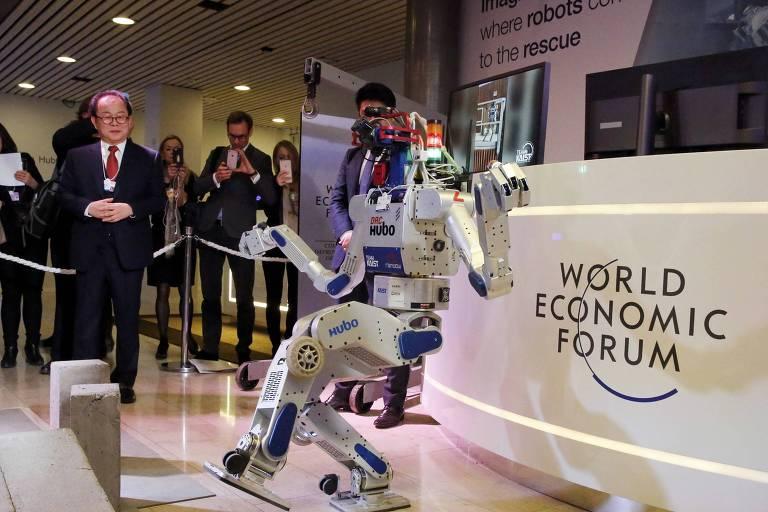 O Fórum Econômico e a tecnologia