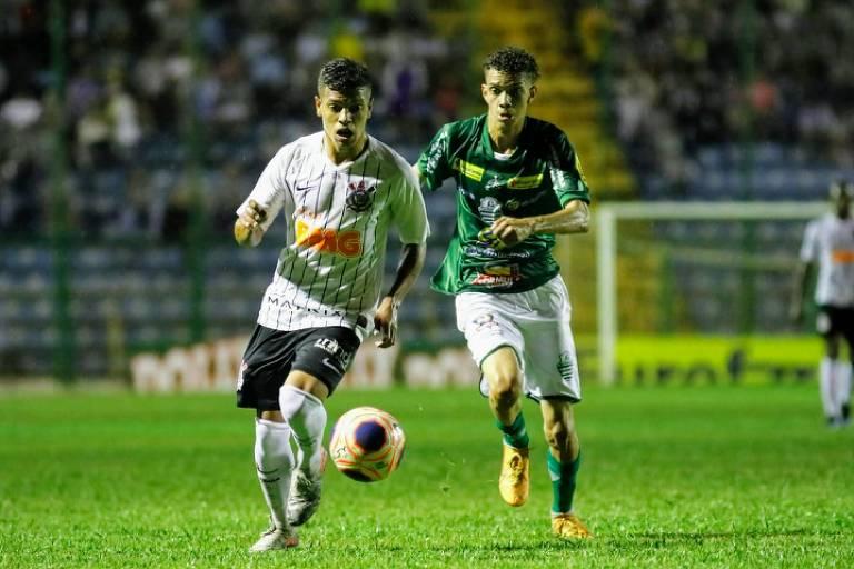 Corinthians eliminou o Cuiabá na segunda fase da CoCorinthians eliminou o Cuiabá na segunda fase da Copa São Paulopa São Paulo