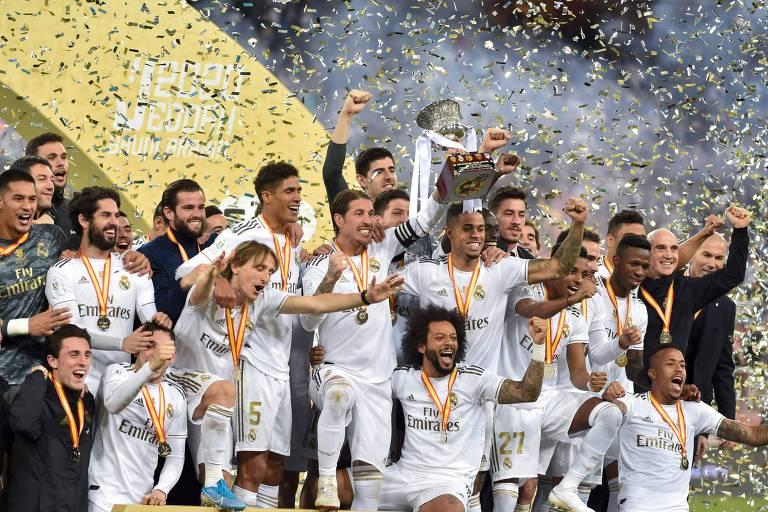 Real Madrid bate Atlético nos pênaltis e é campeão da Supercopa
