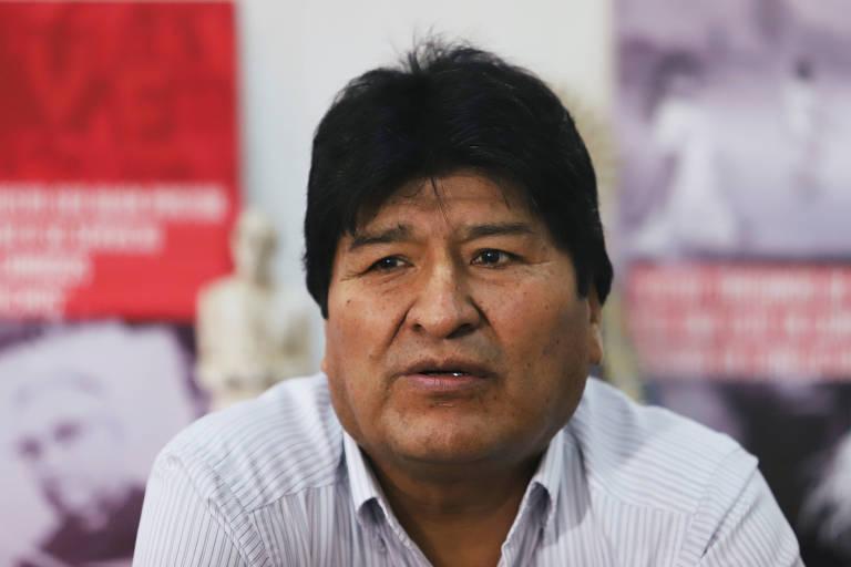 Evo planeja criar milícias caso seu partido volte ao poder na Bolívia