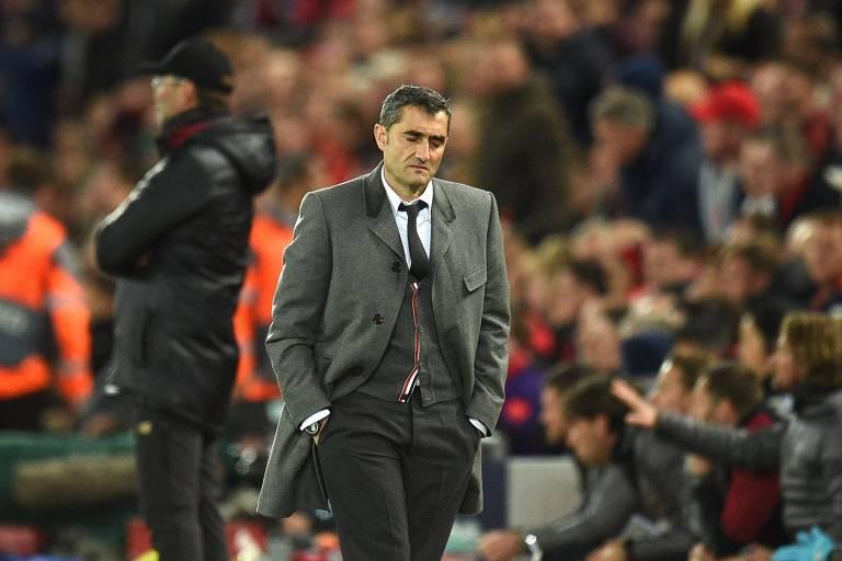 Ernesto Valverde foi demitido do Barcelona em janeiro de 2020