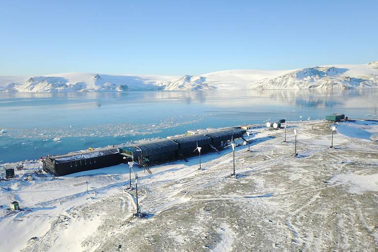 Nova base antártica brasileira