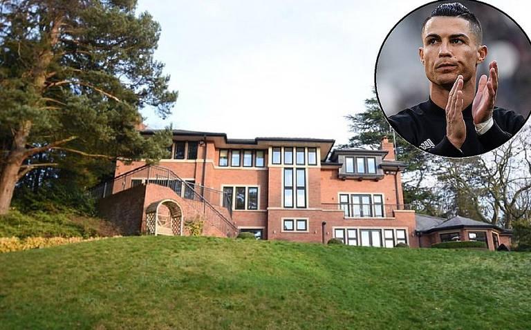 CR7 põe mansão à venda na Inglaterra com desconto considerável: R$ 3,2 milhões a menos que o jogador pagou