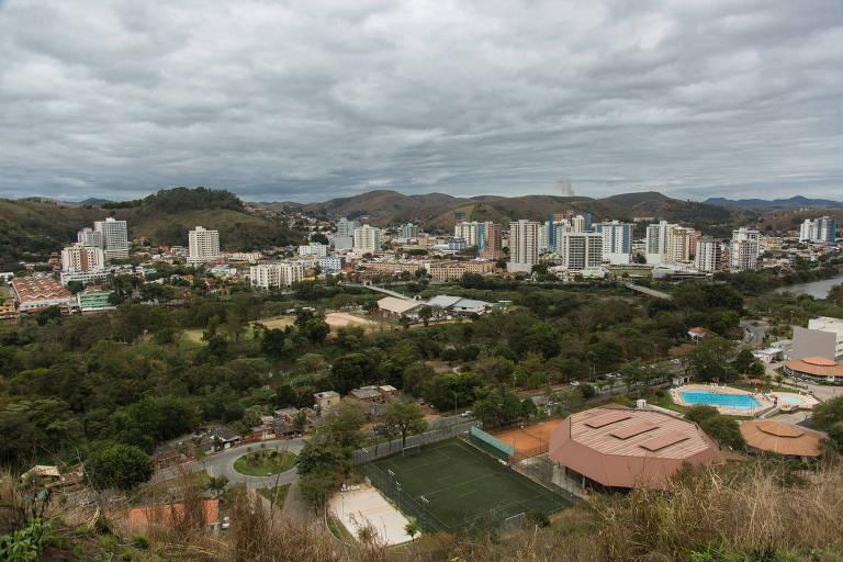 Vista da cidade de Três Rios. Com a crise no estado do RJ, cresce a violência em cidades do interior